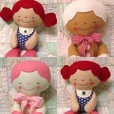 Muñeca de trapo, muñeca patrón, PDF descarga instantánea, muñeca de trapo, blando, juguete suave, galleta, hombre de jengibre, descarga Digital