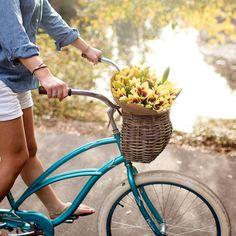 Nantucket bike baskets.  Beautiful and a great price.