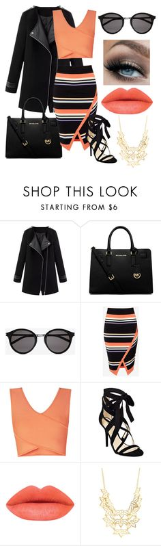 """""""i try to be consistent, but i cant"""" by cutiepiemandiii ❤ liked on Polyvore featuring MICHAEL Michael Kors, Yves Saint Laurent, Ted Baker, BCBGMAXAZRIA, Nine West, Charlotte Russe, women's clothing, women, female and woman"""