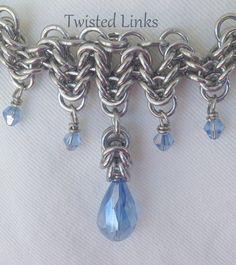 Bracelet Collier moitié vagues Byzantine par twistedlinksjewelry