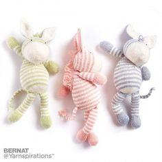 Free Intermediate Knit Zebra Pattern