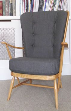 HOUSE INVENTORY - Vintage Ercol High Back Chair More
