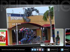 Transformers. Optimus vs Megatron. Awesome!