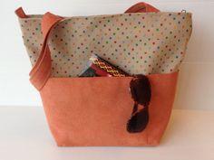 vegan purse outside pockets over the shoulder bag by LIGONbyRuthi, $69.00