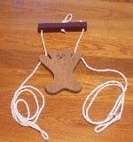 climbing bear toy pattern and directions http://www.historicnauvoo.net/wp-content/uploads/2010/02/PioneerPastimes.pdf