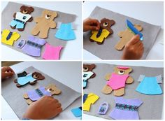 Tablero sensorial: osos para vestir | Blog de BabyCenter