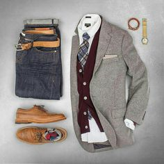 Right side, yes, but not not with the jeans or that shade of color in shoes or belt