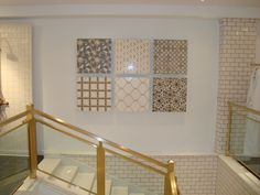 Mosaic Boards in the 58th St Showroom