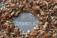 Do your weekend plans include GRANOLA? They should! Here's my favorite (EVER) granola recipe!
