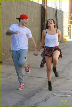 Bethany Mota & Mark Ballas Try Out Extreme Hula Hooping