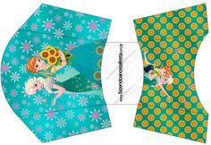 Frozen Fever: Cajas para Imprimir Gratis. | Ideas y material gratis para fiestas y celebraciones Oh My Fiesta!