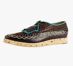 S/S 2012 mens shoes designer Burburry
