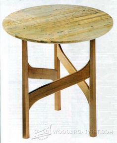 341-Elegant Accent Table Plans