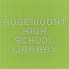 Rosemount High School Library