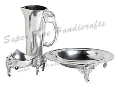 We design & manufacture exclusive aluminium tablewares like bowls,jug,vase,salad servers,tray,mirror frame,candle holder as per needs and requirements of our clients.