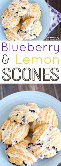 Garden-to-Table: Lemon Blueberry Scones