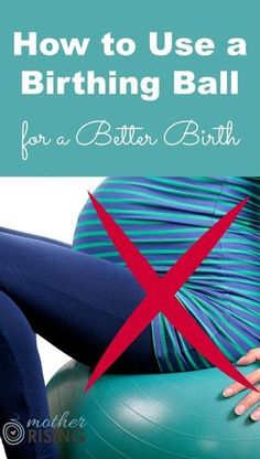 A birthing ball is a must-have for every pregnant woman hoping for an easier pregnancy, better birth and happier postpartum.