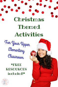 Cait's Cool School: The one with Christmas activities for upper elementary