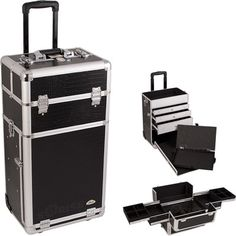 Sunrise Cases Professional Rolling Makeup Train Case | Wayfair  Definitely need this!