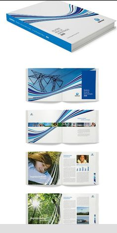 Overall Design-I like the blue curved lines throughout all of the pages. It is a good design element.