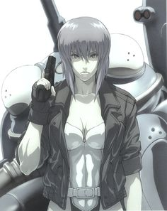 Ghost in the Shell (artist unknown)