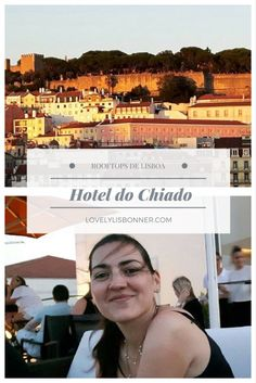 melhores rooftop bares de lisboa hotel do chiado Portugal, We Are The World, Dear Future, Eurotrip, Travel Inspiration, Places To Visit, Tours, Travel Europe, Blog
