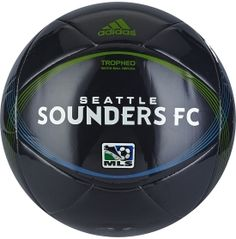adidas Seattle Sounders Tropheo Size 5 Soccer Ball  MOMMY PLEASE!