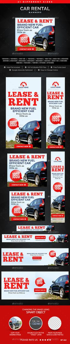 Car Rental Banners Pinterest Banner Template Banners And Template - For rent advertisement template