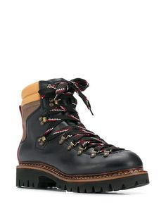 Color Blocking, Colour Block, Designer Boots, Outdoor Outfit, Tall Boots, Dsquared2, Hiking Boots, High Fashion, Men's Shoes