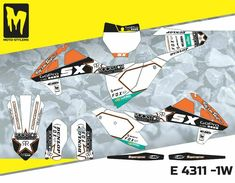 SX 85 2018 up to 2019 graphics decals kit Moto StyleMX Mx Bikes, Troy Lee, Dirtbikes, Motocross, Honda, Decals, Graphics, Kit, Stickers