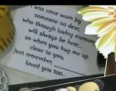 Memorial Bear Poem