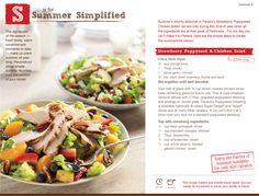panera's strawberry, poppyseed, and chicken salad - at home