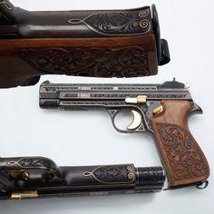 Sig P210 9mm semi-automatic pistol