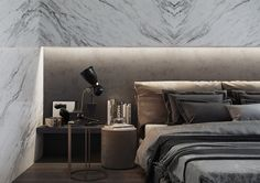penthouse master bedroom.Used Softwares : 3dsmax , Corona render and PS