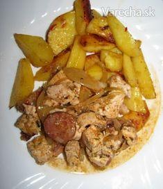 Lenivé ražniči (fotorecept) - recept   Varecha.sk Foods, Meat, Chicken, Food Food, Food Items, Cubs