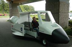 SPACE SHUTTLE #uaegolf #golf #golfcart