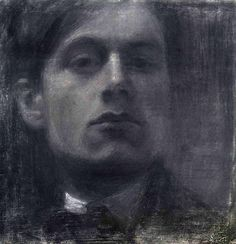 Self-Portrait ~ Mario Sironi (1885 – 1961) was an Italian modernist artist who was active as a painter, sculptor, illustrator, and designer.