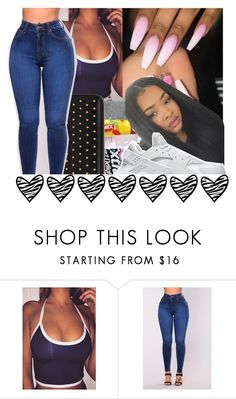 """""""I like this one"""" by shawtyash ❤ liked on Polyvore featuring NIKE"""