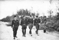 German Luftwaffe pilots. Rest between flights.