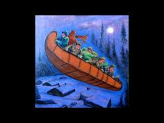 ▶ MARTIN DE LA CHASSE-GALERIE -La Bottine Souriante (1994) LA MISTRINE - YouTube - This French song is another great supplement to teaching the French folk tale - La Chasse-galerie!