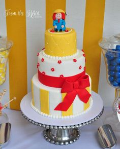 Madeline themed 6th birthday party for Mazie! | CatchMyParty.com