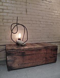 Designer Vasa Gataiance #rustic #barnwood #lamps