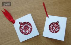 Crafters Companion Classique Christmas Dies Quick Tags