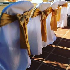 🌟GET FRESH CHAIR COVER RENTALS FOR YOUR WEDDING!  What color will your chair covers for your reception celebration be?💐🍾🍽👰🏻🎩  Ps. Don't Forget, You Can Now Book Us For Your 2017 SUMMER Wedding! Wedding Bows, Summer Wedding, Wedding Day, Chair Cover Rentals, Satin Color, Get Fresh, The Perfect Touch, Satin Bows, Chair Covers