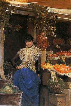 Venice, 1889 ~ Robert Payton Reid ~ (Scottish: 1859-1945)