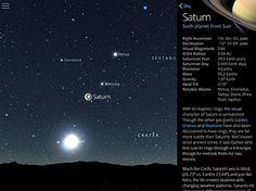 Screen do aplicativo Sky Guide