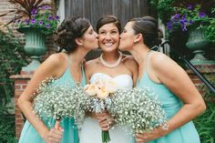 Now flip the script! Let your bridesmaids shower you with affection just once more — you deserve it.