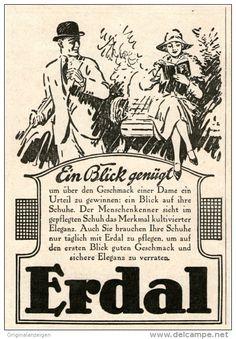 Original-Werbung/Inserat/ Anzeige 1926 : ERDAL ca. 90 x 135 mm