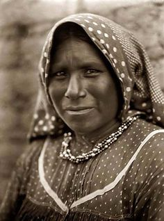 Above we show a majestic photo of a Yaqui Matron in a Head-and-shoulders Portrait. It was made in 1907 by Edward S. Curtis.    The illustration shows a wonderful view of this Native American.    We have compiled this collection of artwork mainly to serve as a vital educational resource. Contact curator@old-picture.com.