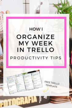 Steal my Trello template + tips for how I organize my business' week for maximum efficiency and productivity. Business Organization, Organization Hacks, Organizing Tips, Time Management Tips, Project Management, Business Tips, Online Business, Creative Business, Business Planning